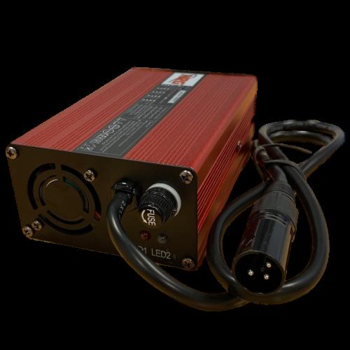 Vol automatische LiFePO4 accu lader 12V 6Ah van NRG