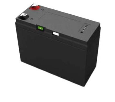 LiFePO4 accu 12,8V 7,5Ah met SMBUS