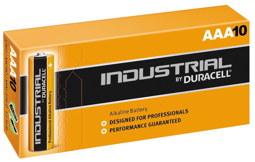 Duracell Industrial LR03 AAA 1,5V Alkaline