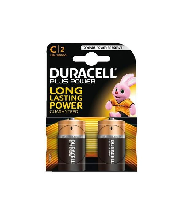 MN1400 Duracell Plus Power C BL2