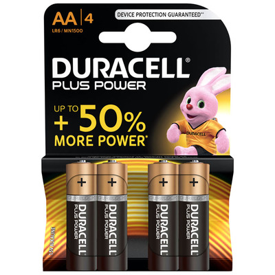 MN1500 Duracell Plus Power AA BL4