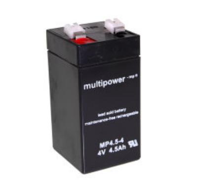 MP4.5-4 - 4V 4,5Ah AGM Algemeen gebruik van Multipower