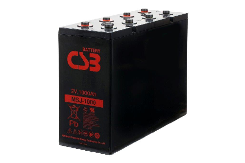 MSJ1000 - 2V 1020Ah AGM Eencellige serie van CSB Battery