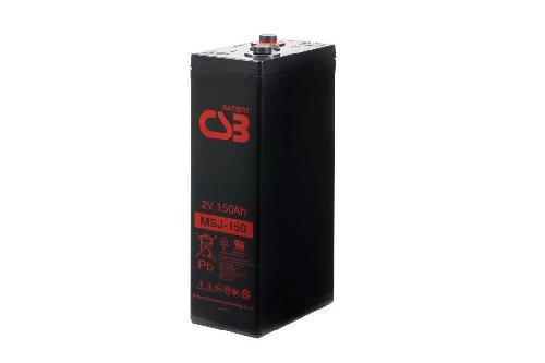 MSJ150 - 2V 155Ah AGM Eencellige serie van CSB Battery