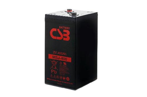 MSJ400 - 2V 439Ah AGM Eencellige serie van CSB Battery