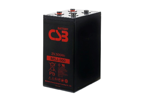 MSJ500 - 2V 510Ah AGM Eencellige serie van CSB Battery
