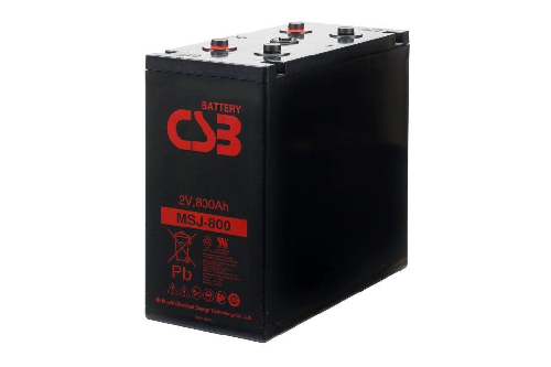 MSJ800 - 2V 870Ah AGM Eencellige serie van CSB Battery
