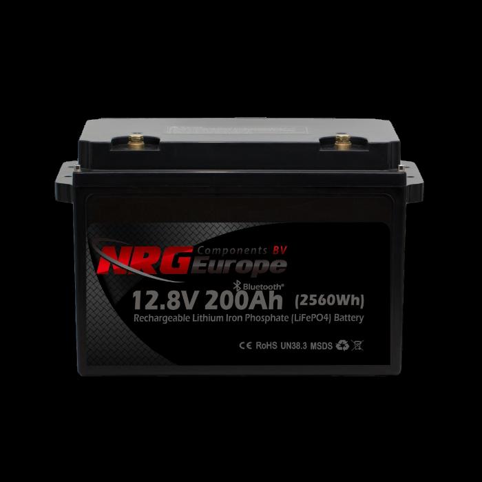 LiFePO4 accu 12,8V 200Ah met APP (Serie versie)