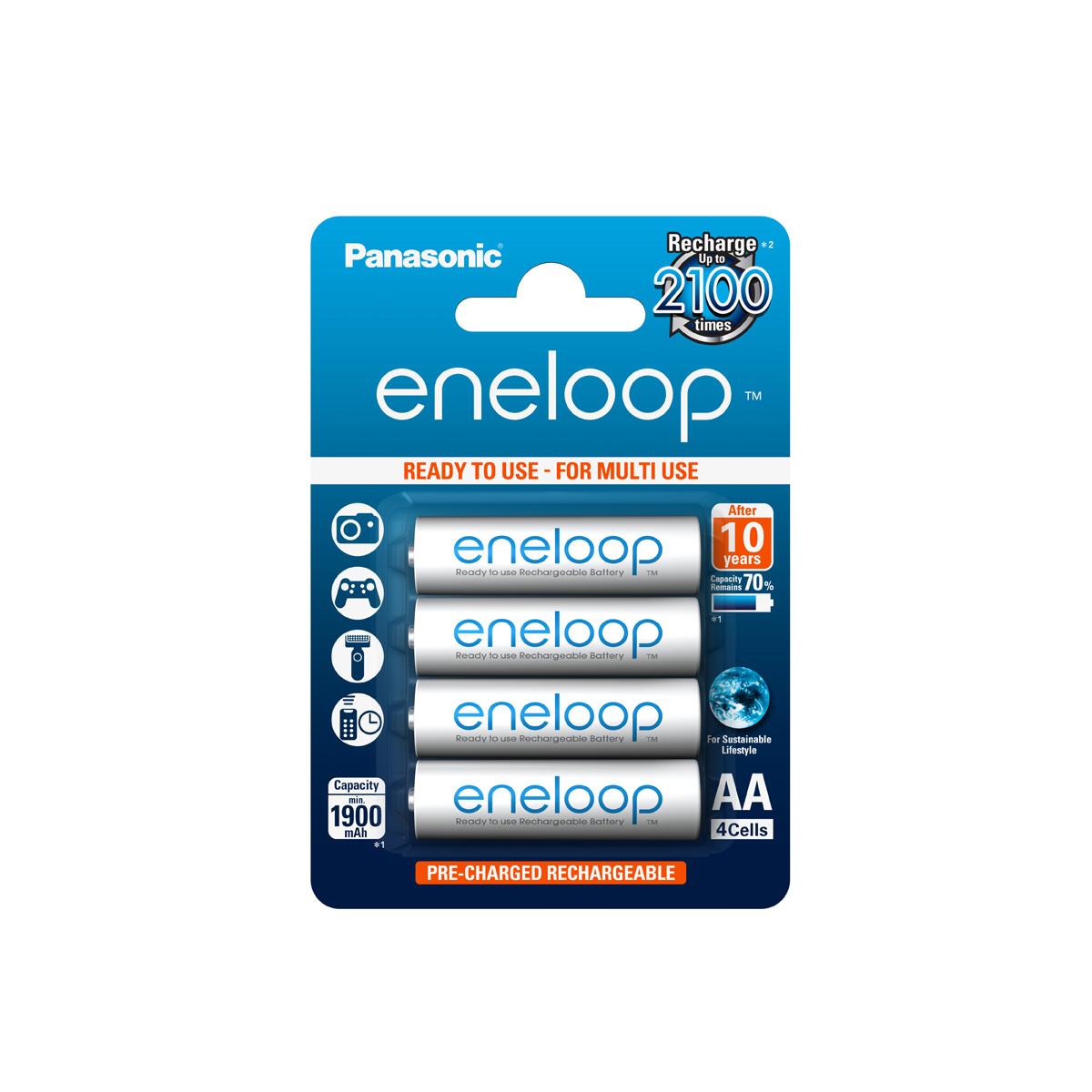Panasonic Eneloop AA BL4