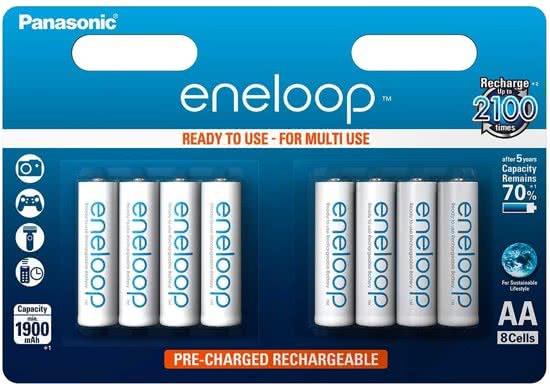 Panasonic Eneloop AA BL8