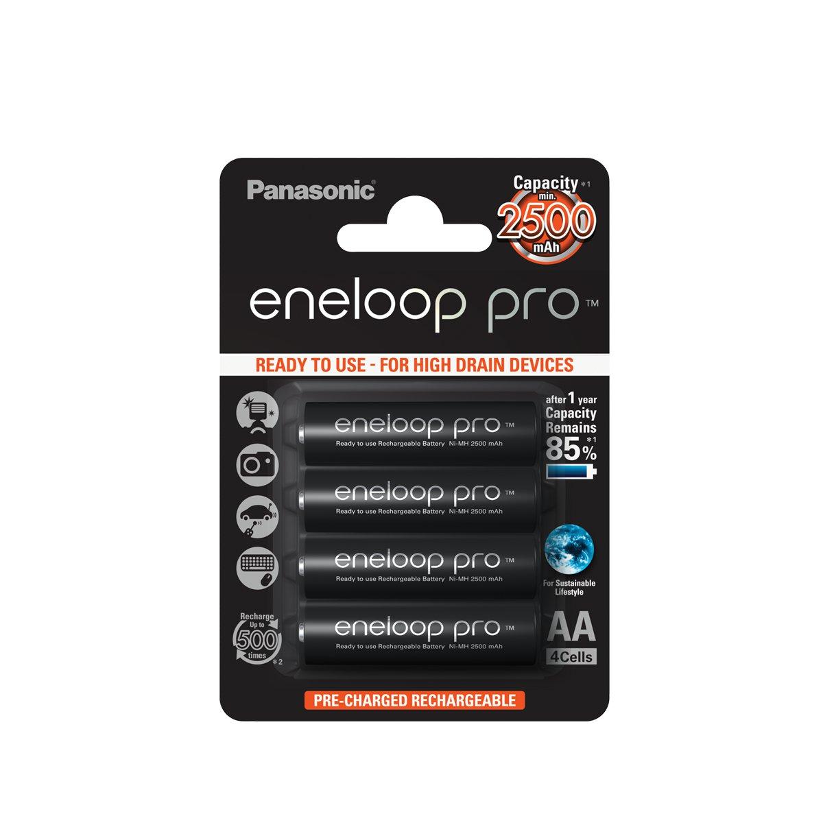 Panasonic Eneloop Pro AA BL4