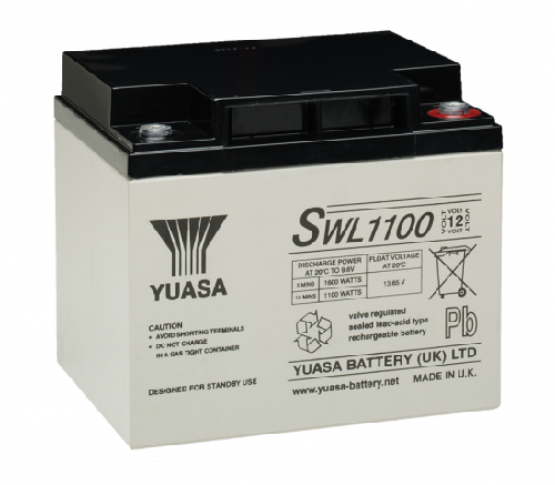SWL1100 - 12V 40Ah 1202W AGM High Rate Long Life van Yuasa
