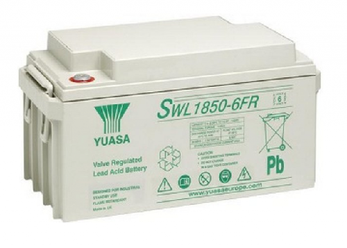 SWL1850-6FR - 6V 132Ah 1344W AGM High Rate Long Life van Yuasa