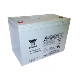 SWL2500TFR - 12V 90Ah 2500W AGM High Rate Long Life van Yuasa
