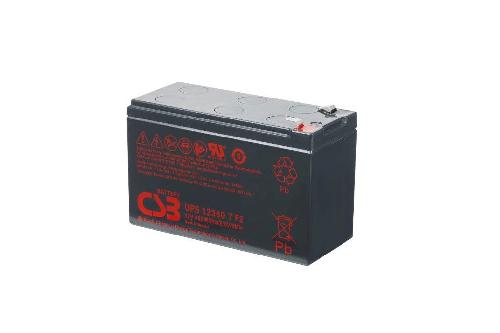 UPS123607 - 12V 7,5Ah 360W AGM Uninterruptible Power Supply van CSB Battery