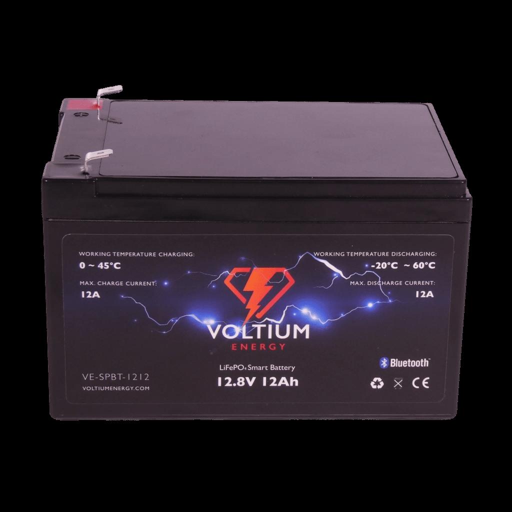 Voltium Energy® LiFePO4 accu 12,8V 12Ah met APP