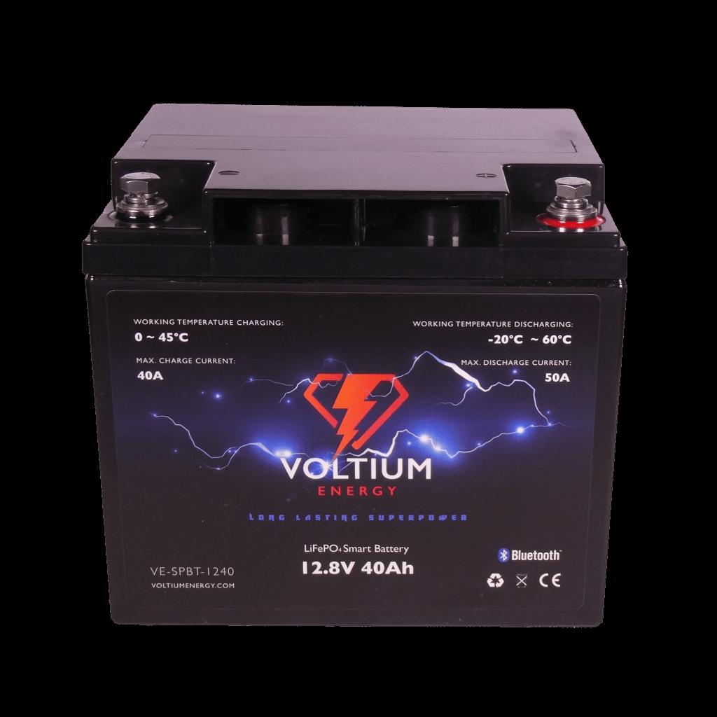 Voltium Energy® LiFePO4 accu 12,8V 40Ah met APP