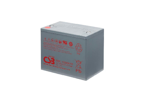 XHRL12360W - 12V 73Ah 360W AGM Extreme High Rate Long Life van CSB Battery