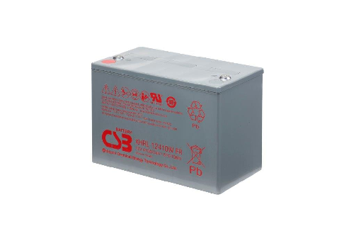 XHRL12410W - 12V 90Ah 410W AGM Extreme High Rate Long Life van CSB Battery